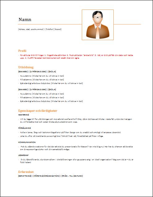 Strukturerat orange + bild